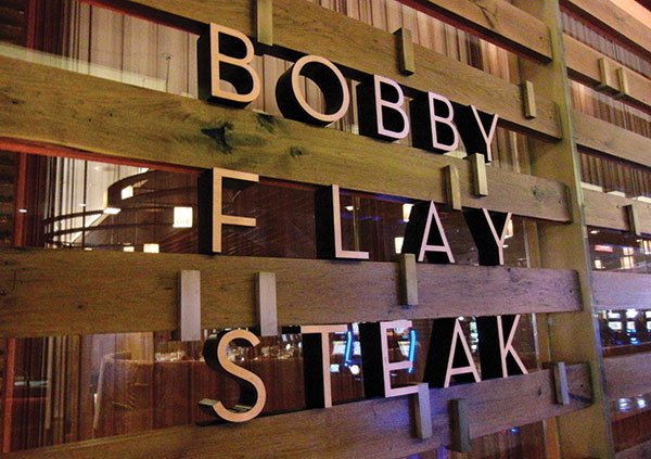 Treating Clients To Dinner At Bobby Flay Steak In Atlantic City
