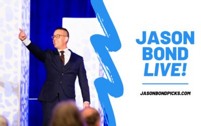 Jason Bond LIVE: October 6th, 2020